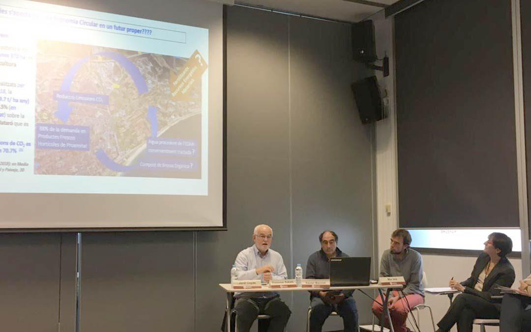 Jornada de Paisatge i Economia Circular, amb la Diputació de Barcelona