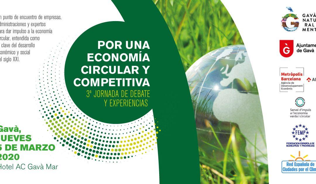 """3ª Jornada """"Por una Economía Circular y Competitiva"""""""